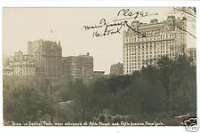 Thaddeus Wilkerson Photo, Central Park & Plaza Hotel NY