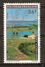 POLYNESIA, FRENCH  # 276 Used GOLF COURSE