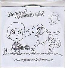(BO991) The Wind Up Merchants, Be Kind to Animals - 2007 DJ CD