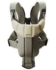 Baby Bjorn Baby Active Organic Carrier in Walnut Khaki Color New!