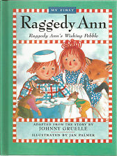 Raggedy Ann;s Wishing Pebble Jan Palmer HC 2007  Includes CD