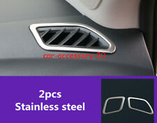 Stainless Dashboard Upper Air Vent Outlet Cover trim For Infiniti QX60 2014-2020