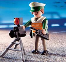 Polizist mit Radarfalle Blitzer Kontrolle Playmobil Spezial 4609 ⭐️ NEU OVP MISB