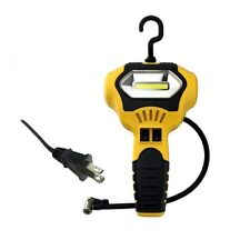 Air Compressor Inflator Portable 12V Pump Car 100 PSI Tire Pressure Cob Light
