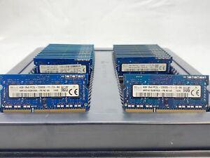 LOT 25 HYNIX HMT451S6BFR8A 4GB DDR3 PC3L-12800 1600 LV NON ECC SODIMM MEMORY RAM