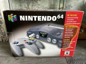 Nintendo 64 console boxed With 2 Games