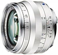 Carl Zeiss C Sonner T*1.5/50ZM SV Leica M f/1.5-f/16 50mm Fast Ship Japan EMS