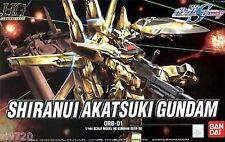 BANDAI HG 1/144 Shiranui Akatsuki Gundam Plastic Model