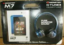 "7"" Monster M7 Tablet and Monster N-Tunes HD Headphones- 32GB BLUE"