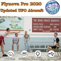 Flynova Pro 2020 Updated UFO Aircraft Spinner with Endless Tricks Flying Toys UK
