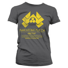 Officially Licensed Die Hard - Nakatomi Plaza Women's T-Shirt S-XXL Sizes