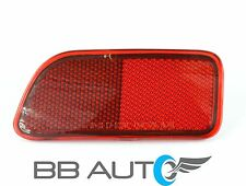 02-09 CHEVROLET TRAILBLAZER LH DRIVER SIDE REAR BUMPER RED REFLECTOR MARKER LENS