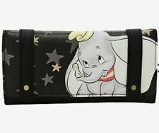 Loungefly Disney Dumbo Black Star Flap Wallet! Nwt