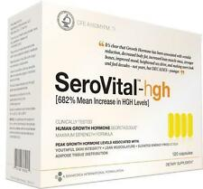 SeroVital-hgh Open Box 68 Capsules (17 Sealed Packets) EXP 03/18