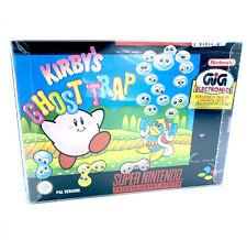 Kirby's Ghost Trap Jeu Super Nintendo SNES En boite complet Near Mint PAL NOE