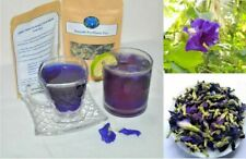 Butterfly Pea Flower Herbal Tea 100%Pure Organic Dried Healthy FREE SHIPPING 50g