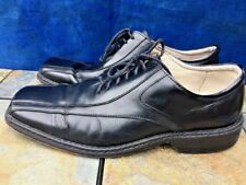 STACY ADAMS The Original Loafers Oxfords Dress BLACK LEATHER Shoes Mens Sz 11
