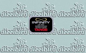 Tange Infinity tubing decal- perfect for restorations