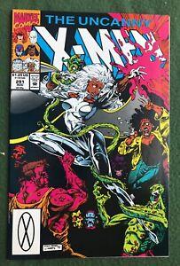 X-Men #291 Marvel Comic Copper Age Storm Colossus Wolverine vf
