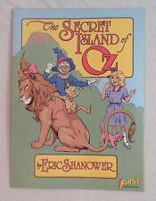 The SECRET ISLAND of OZ Eric Shanower FIRST Graphic Novel