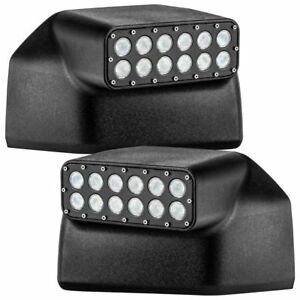 2015-2019 Ford F150 & Raptor ORACLE Lighting Off-Road LED Mirror Cap 5816-001