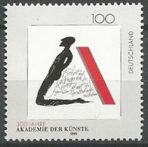 Germany 1996 MNH Art Berlin Academy of Arts Kneeling Figure Motto Mi1866 SG-2720