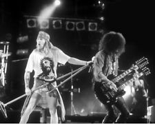 Hard Rock Band GUNS N' ROSES Glossy 8x10 Photo Poster AXL ROSE & SLASH Print