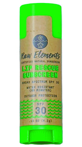 [Raw Elements] Lip Rescue Sunscreen SPF 30 - 3 Pack - [EXPIRED]