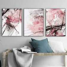 Modern Wall Poster Picture For Living Room Decoration Canvas Painting Art Yellow