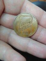 """Yankee Pedlar Inn Toluca Lake CA token coin pub bar """"say when club""""  Rare e14"""