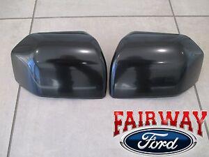 15 thru 20 F150 OEM Ford Paintable Mirror Cover Skull Cap Set of 2 in Primer NEW