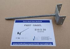 Firstnagel Gratnagel Firstlattenhalter 210 x 50 10Stück