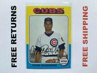2019 Topps Archives Base Card #173 Ryne Sandberg Chicago Cubs MLB