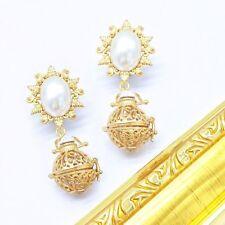 Pearl Copper Drop/Dangle Fashion Earrings