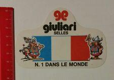 Aufkleber/Sticker: giuliari Selles - N. 1 Dans Le Monde (130317113)