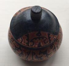 Wood Jewelry Box w/Lid Handmade Art Craft  Home Decor&Gifts-Circle&design