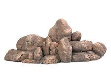 Rock Cluster Pared Ornamento De Acuario Reptile Vivero montículo de rocas decoración