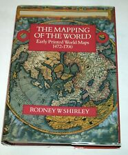 Mapping of the World: Early Printed Maps 1472-1700; Rodney Shirley Giant HC book