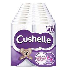 Cushelle Toilet Tissue White 4 Rolls Pack Of 10 Total 40 Rolls