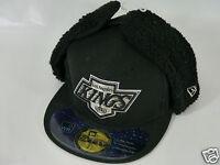 NEW ERA LA KINGS BLACK BASEBALL CAP 6.7/8 7 59FIFTY 7.3/8 7.1/2 BNWT FITTED