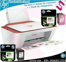 MULTIFUNCION HP INYECCION DESKJET 2723 IMPRESORA ESCANER + 1 PACK TINTA 305XL