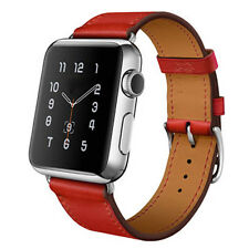 Leather Buckle Wrist WatchBand Strap Belt bands for iWatch Apple Watch 38/42MM