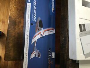 HobbyZone # 5700 Mini AeroScout RTF  MIB trainer park flyer inc.radio.batt.