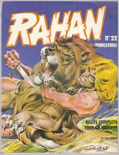 RAHAN  N° 22  bimestriel  03/1977