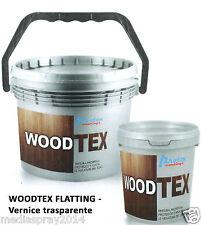 WoodTex Flatting - vernice trasparente per legno, interni ed esterni 2,5 lt