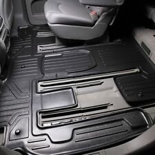 For GMC Acadia 07-16 Floor Mat MaxFloormat 2nd & 3rd Row Extended Coverage