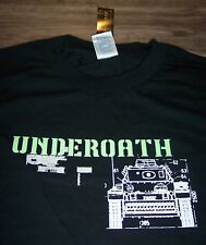 UNDEROATH We're Nothing Short Of Invincible T-Shirt 2005 XL Hardcore Band NEW