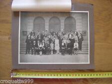 Photo ancienne 1928 mariage famille Jean DELAROCHE Juliette THOMAS Levier DOUBS
