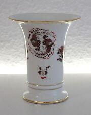 Meissner Porzellan Trompetenvase Brauner Drache Meissen 1924-34 ca. 13 x 11,5 cm