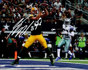 Packers Receiver JORDY NELSON Signed 8x10 Photo #9 AUTO - SB XLV Champ -